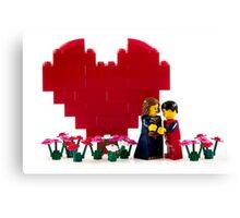 Be My Valentine Canvas Print