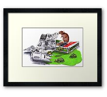 Beginnings - Teenage Mutant Ninja Turtles Framed Print