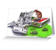 Beginnings - Teenage Mutant Ninja Turtles Greeting Card