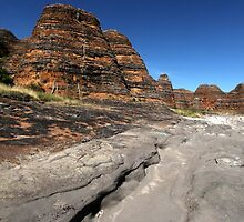 Piccaninny Creek Erosion, Bungle Bungles WA by Mark Ingram