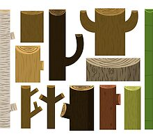 My Collection of Wood by Onno Knuvers