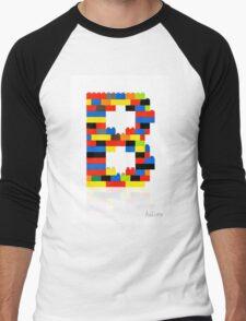 """B"" Men's Baseball ¾ T-Shirt"