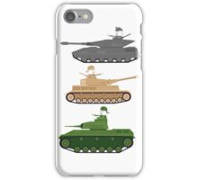 Battle Tanks iPhone Case/Skin