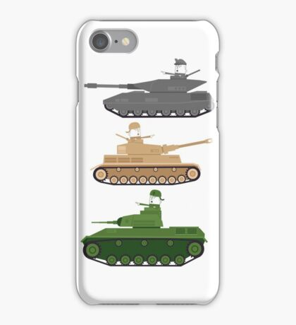 Battle Tanks iPhone Case/Skin