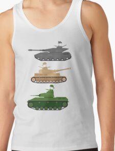 Battle Tanks Tank Top