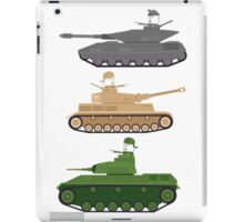 Battle Tanks iPad Case/Skin