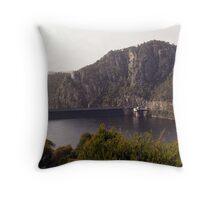 Cethana Dam wall Throw Pillow