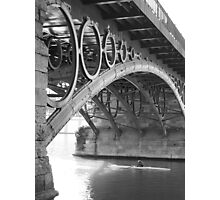 The Bridge of Triana Photographic Print