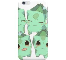 Kawaii Bulbasaurs iPhone Case/Skin