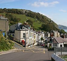 Looking out over Llandudno by Geoff Carpenter