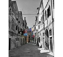 Street Washing! Photographic Print
