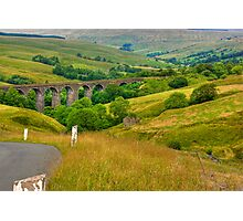 Dales Viaduct Photographic Print
