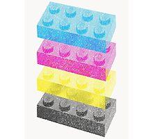 Lego CMYK  Photographic Print