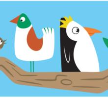 Birds in a Tree Sticker