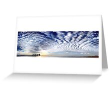 Kwinana Sky (Multi Row Panorama!)   Greeting Card