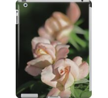 Row of Roses in Perfectly Pink iPad Case/Skin
