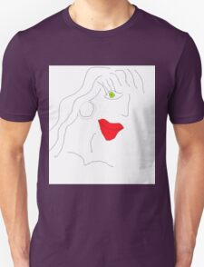 Cute Face Unisex T-Shirt