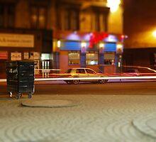 Where you wheelie bin? by Ross Lennox