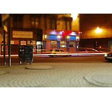 Where you wheelie bin? Photographic Print