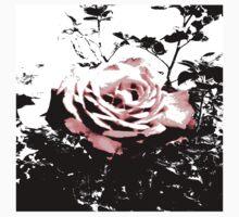 Retro Rose Pink Kids Tee