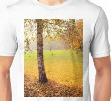 The end of the golden autumn Unisex T-Shirt