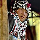 Akha girl by John Spies