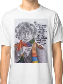 Tom Baker as the Doctor Classic T-Shirt