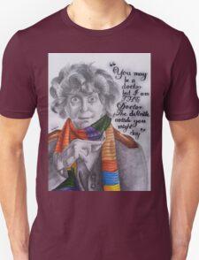 Tom Baker as the Doctor Unisex T-Shirt