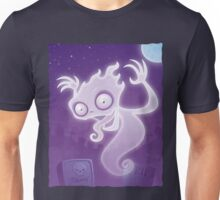 Ghost in the Graveyard Unisex T-Shirt