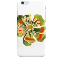 Green Fantasy Flower   iPhone Case/Skin