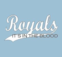 Royals - It's In The Blood Kids Tee