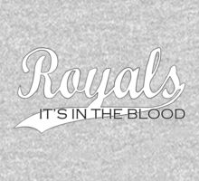 Royals - It's In The Blood One Piece - Long Sleeve
