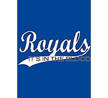 Royals - It's In The Blood Photographic Print