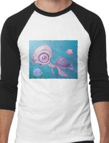 Sea Turtle Men's Baseball ¾ T-Shirt