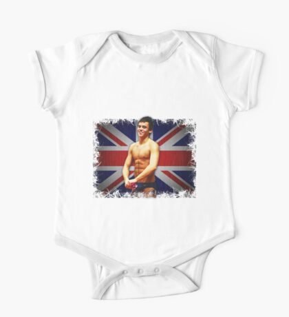Tom Daley and Union Jack One Piece - Short Sleeve