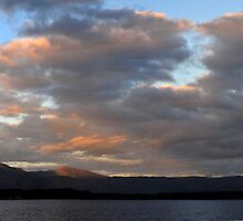 Clouds & Mountains on the Gorden River by Isabella2006