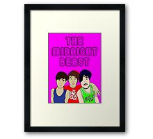 The Midnight Beast Framed Print