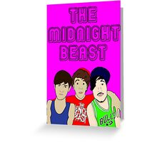 The Midnight Beast Greeting Card