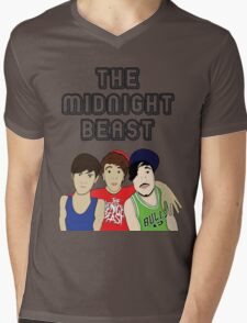 The Midnight Beast Mens V-Neck T-Shirt