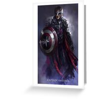 Captain New World Greeting Card