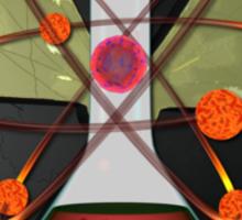 Atomic Better Living Through Experimentation Sticker