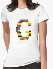 """G"" Womens Fitted T-Shirt"