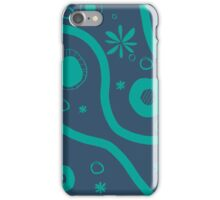 blue party iPhone Case/Skin