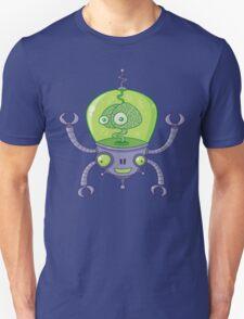 Brainbot Robot with Brain Unisex T-Shirt