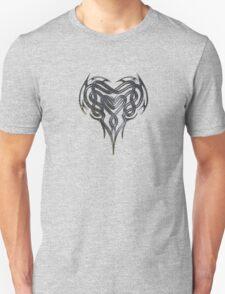 Grungy Celtic Heart Unisex T-Shirt