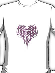Pink Celtic Heart T-Shirt