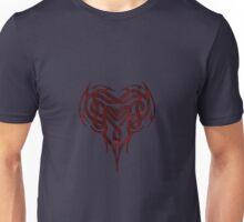 Red Celtic Heart Unisex T-Shirt