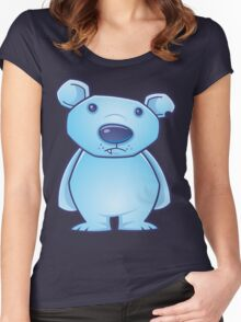 Polar Bear Cub Women's Fitted Scoop T-Shirt