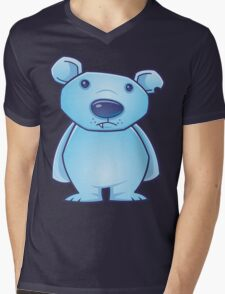 Polar Bear Cub Mens V-Neck T-Shirt
