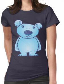 Polar Bear Cub Womens Fitted T-Shirt